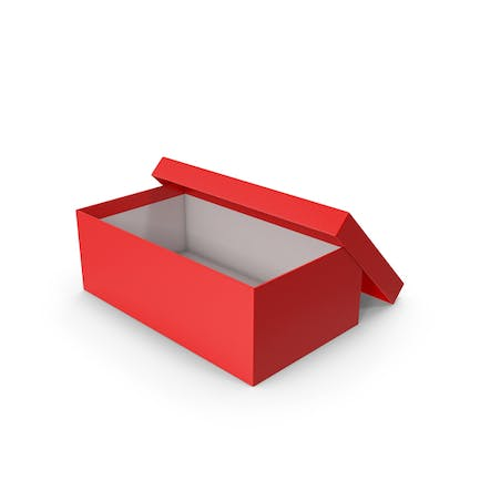 Red Shoe Box Opened