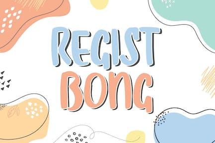 Regist Bong - Diversión Niños