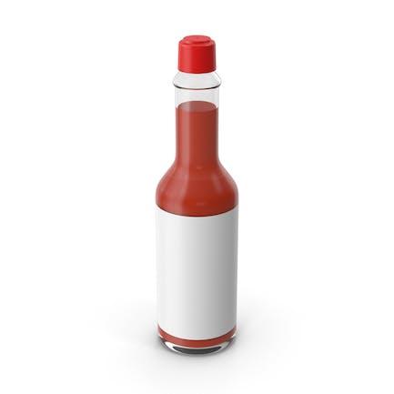 Heiße Sauce Flasche