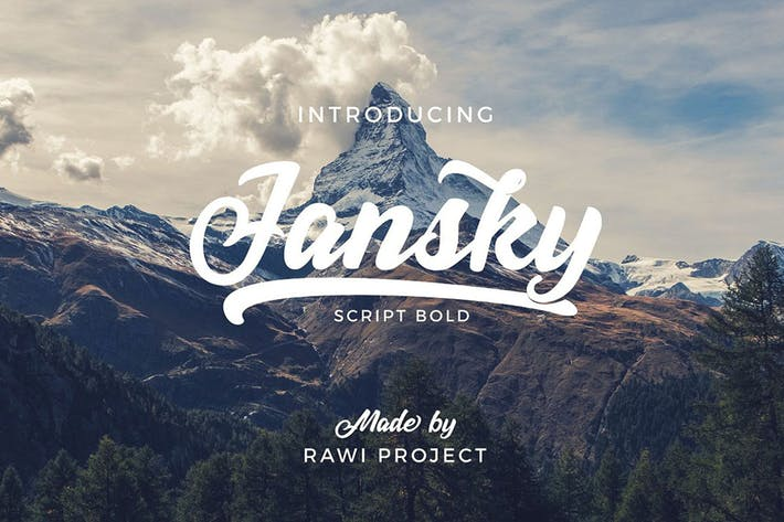 Thumbnail for Jansky Casual Script