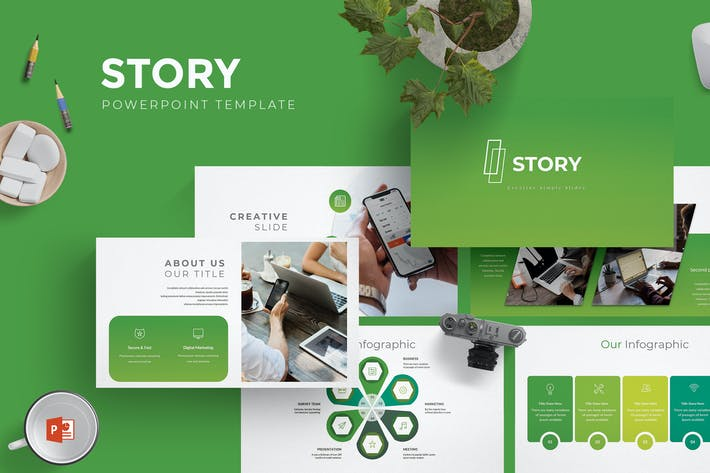 Thumbnail for Story - Powerpoint Template