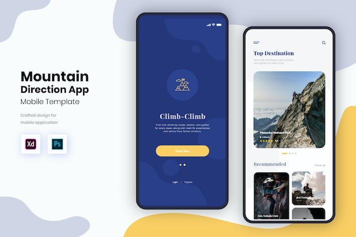 Thumbnail for Мобильный комплект пользовательского интерфейса Mountain Direction