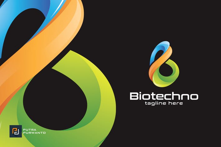 Thumbnail for Biotechno / B - Logo Template