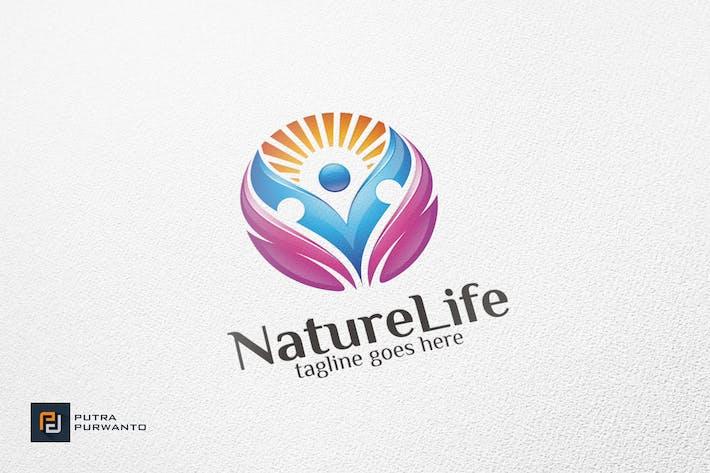 Thumbnail for Природа жизни/Человек - Шаблон логотипа