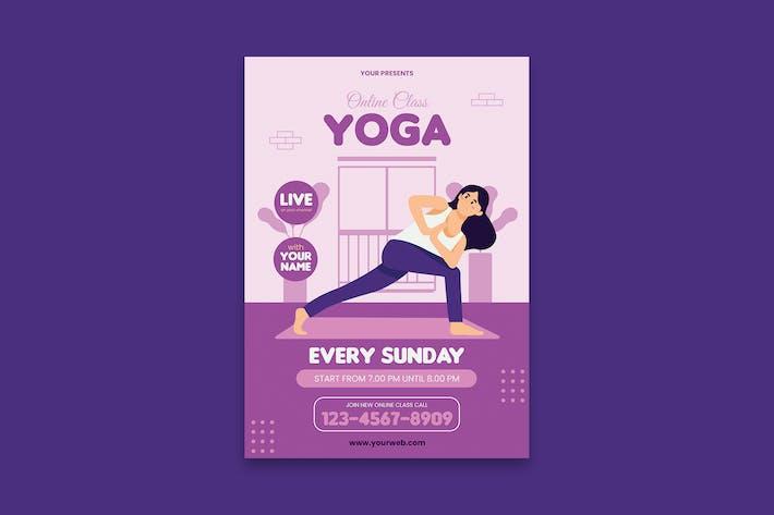 Thumbnail for Yoga Poster