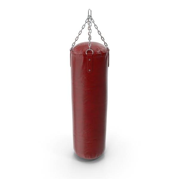 Saco de boxeo de piel