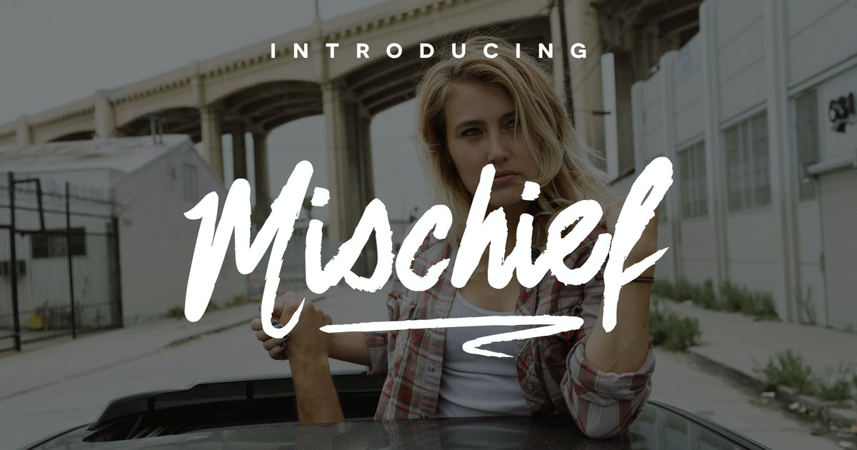 Download Mischief Font by michael_gilliam