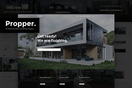 Propper - Real Estate HTML Template