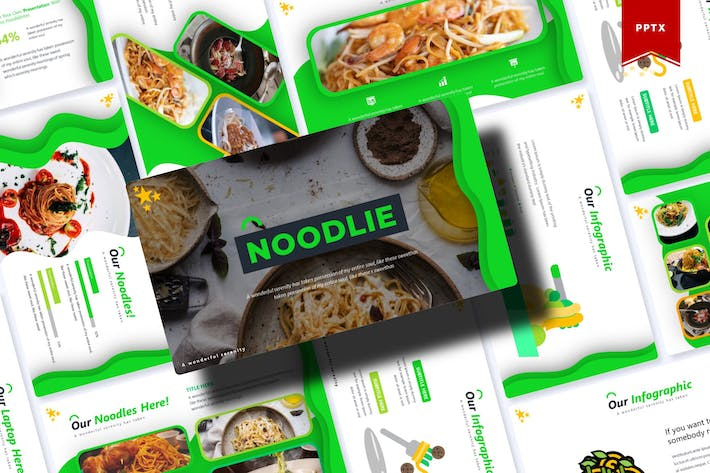 Thumbnail for Noodie | Powerpoint Template