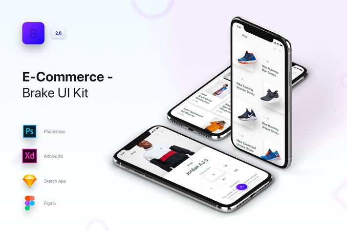 Thumbnail for Brake UI Kit 2.0 - E-Commerce Shop Store