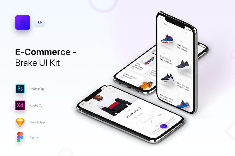 Brake UI Kit 2.0 - E-Commerce Shop Store