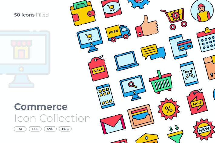 Commerce Filled Icon