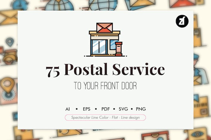 Thumbnail for 75 Postal service elements