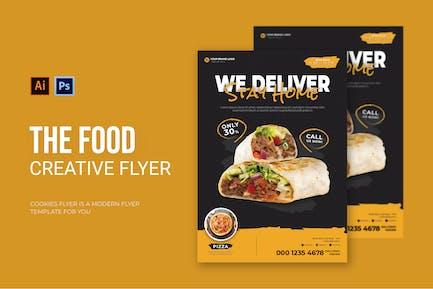 Food Deliver - Flyer