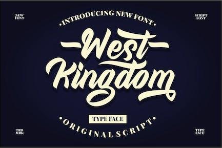West Kingdom - Modern Script Font
