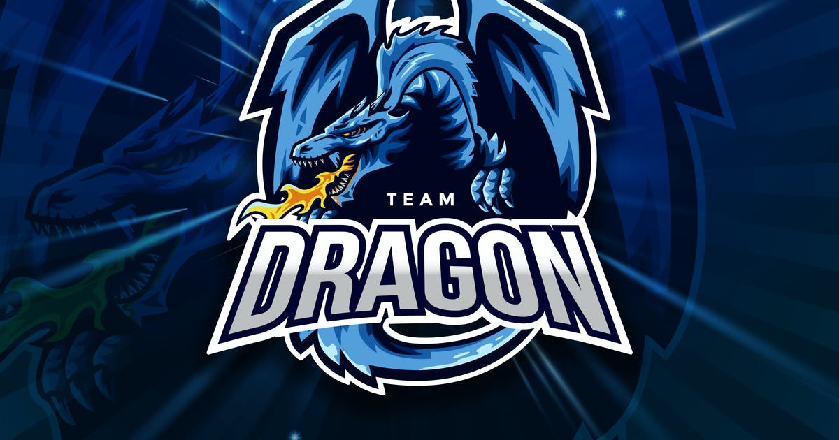 Download Team Dragon Sport And Esport Logo Vector Template by naulicrea