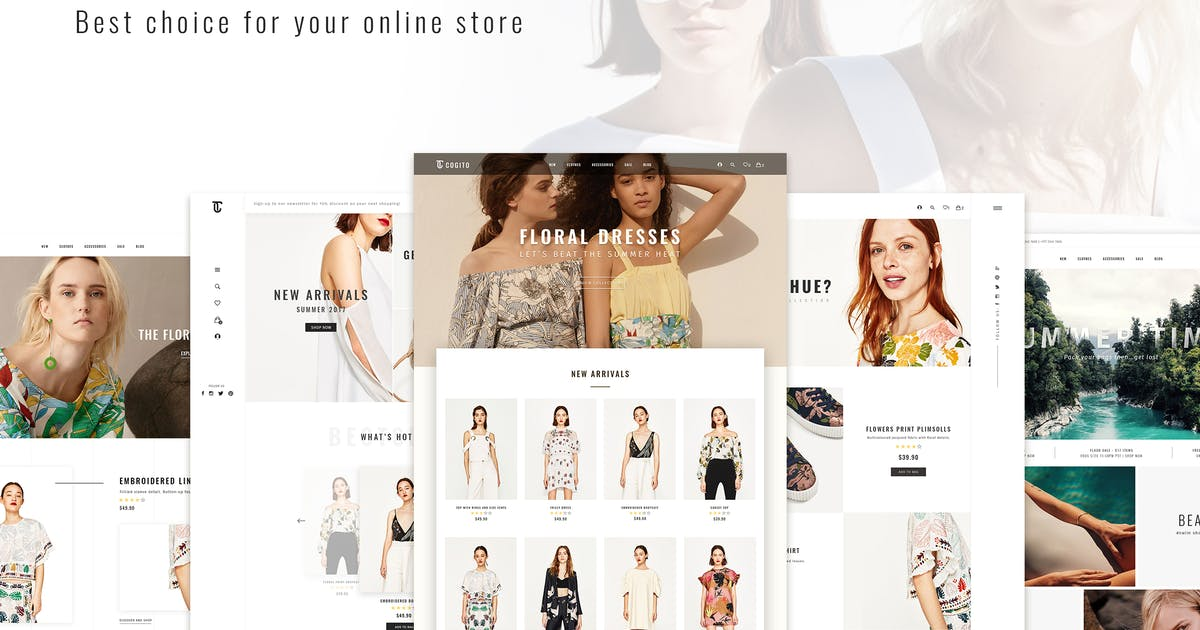 Download Cogito_PSD Ecommerce Template by Unknow