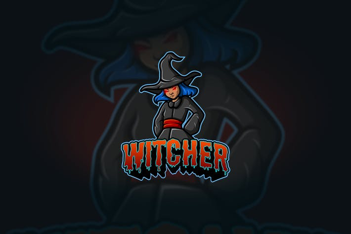 Thumbnail for Witcher - Mascot & Esport Logo