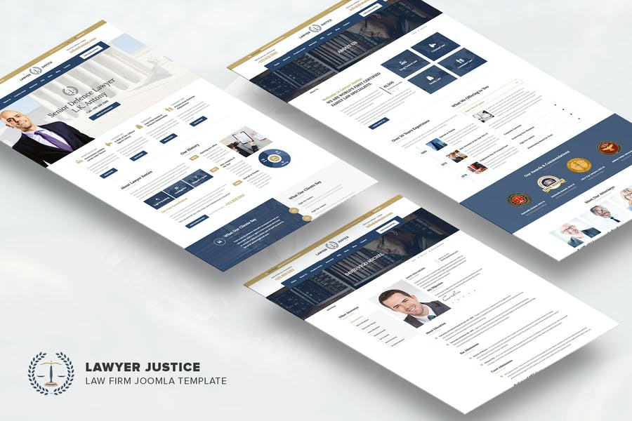 Justice - Law Firm Joomla Template