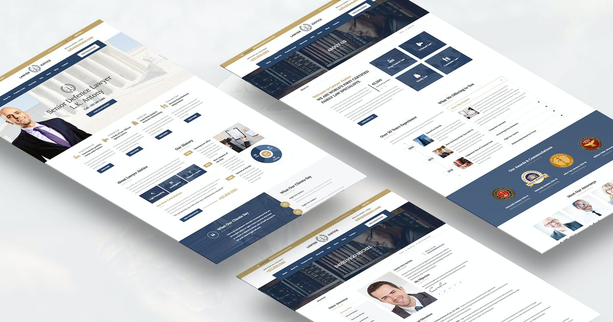 Download Justice - Law Firm Joomla Template by templaza