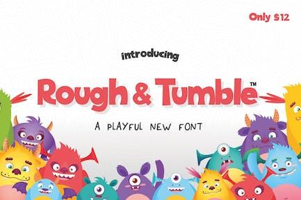Rough & Tumble Font