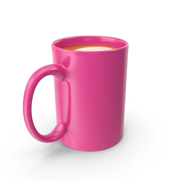 Thumbnail for Pink Cup With Cappuccino