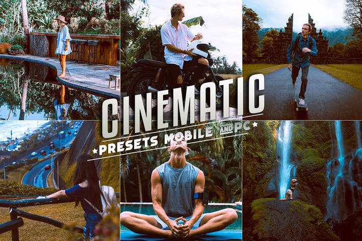 Cinematic Lightroom Presets Mobile & Desktop