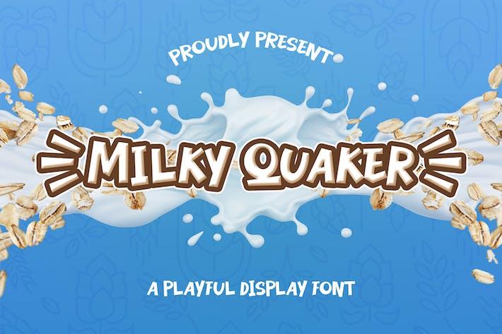 Milky Quaker - Playful Display