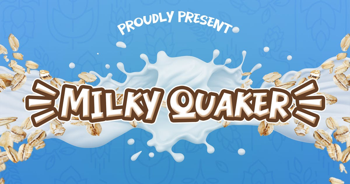 Download Milky Quaker - Playful Display by Alterzone