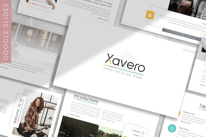 Thumbnail for Xavero - Business Google Slide Template