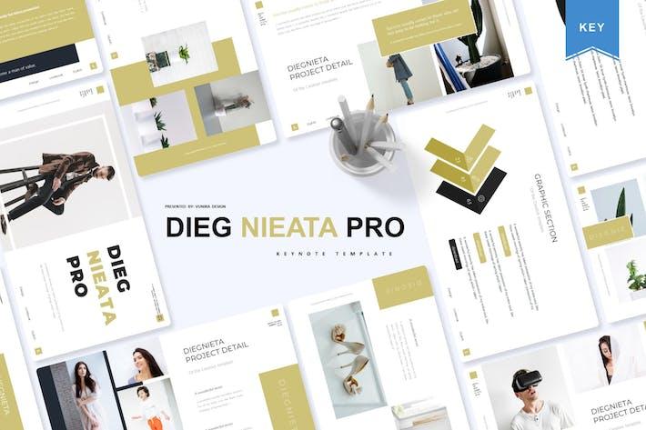 Thumbnail for Diegnieta | Keynote Template