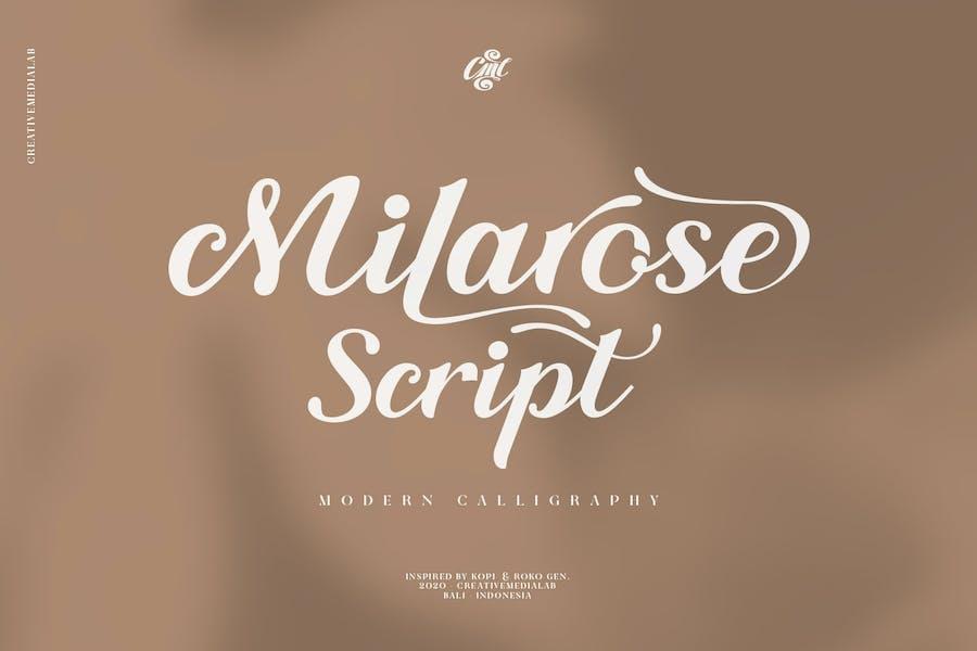 Milarosa Script