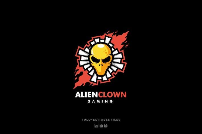 Thumbnail for Elien Skull E-sports Style Logo Template