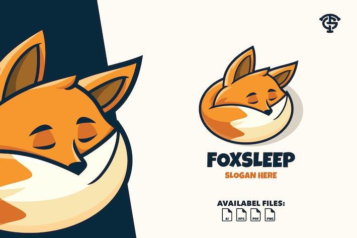 Thumbnail for Foxsleep - Logo Mascot