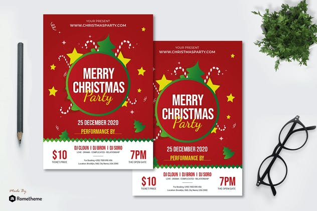 Christmas Party - Flyer AC