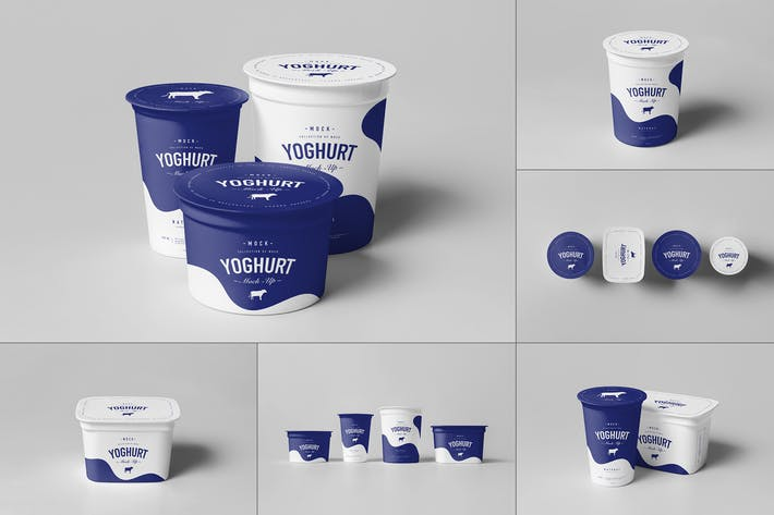 Thumbnail for Yoghurt Cup Mock-up 2