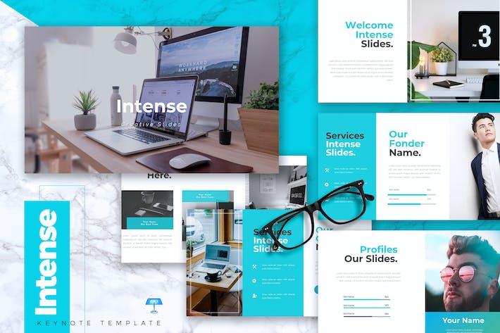 Thumbnail for INTENSE - Business Keynote Vorlage