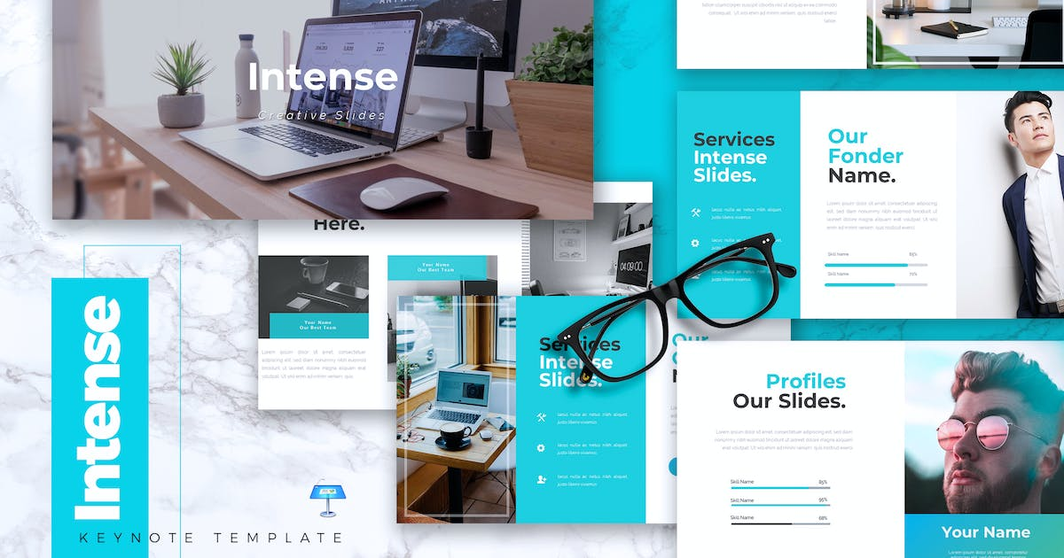 Download INTENSE - Business Keynote Template by RahardiCreative