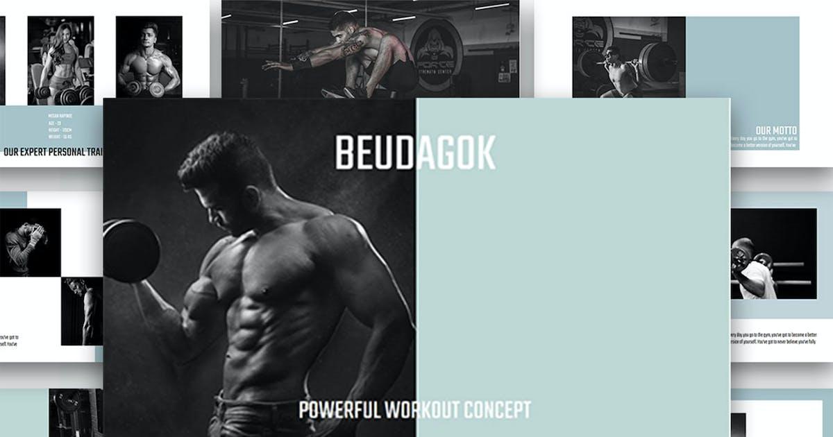 Download Beudagok - Workout Concept Keynote Presentation by raseuki