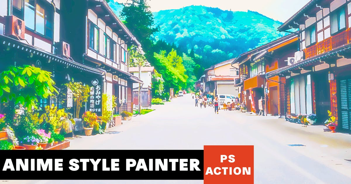Download Anime Style Painter Photoshop Action by AB-Designer