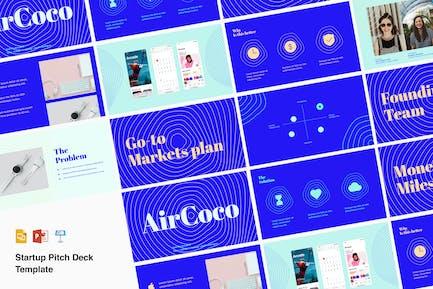 Venture pitch deck