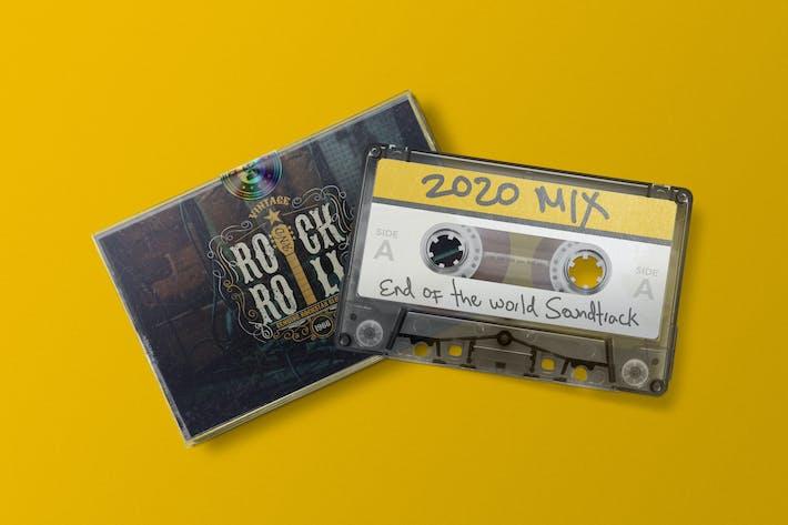Thumbnail for Cassette Tape Mockup