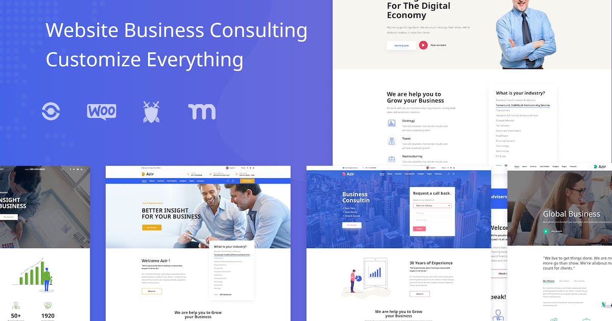 Download Azir | Consulting Finance HTML5 Template by Leonard_Design