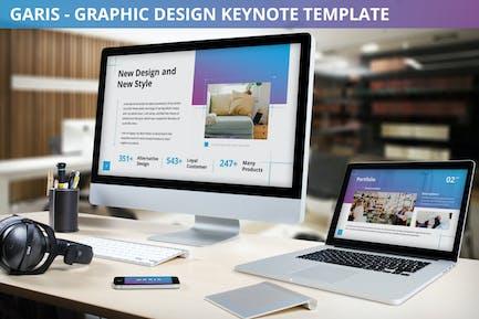 Garis - Graphic Design Keynote Template