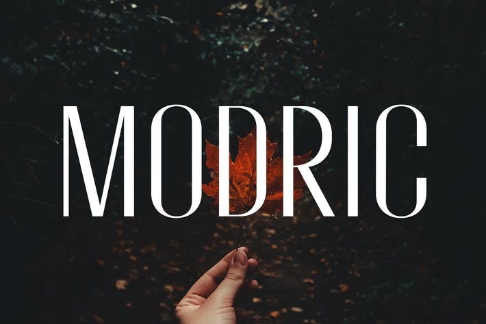 Thumbnail for Modric - Condensed Sans Serif