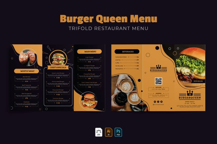 Thumbnail for Burger Queen | Menu du Restaurant
