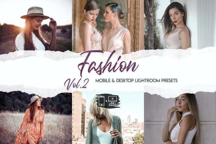 Thumbnail for Fashion Lightroom Presets Vol. 2