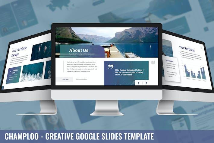 Thumbnail for Sakana - Ocean Google Slides Template