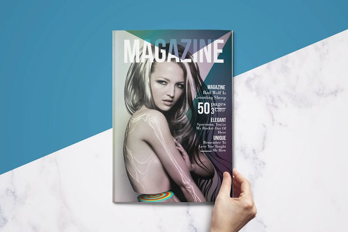 50 Pages Creative Magazine