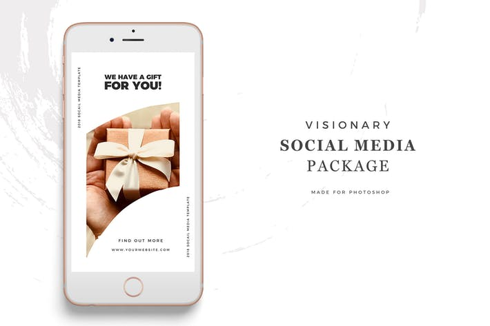 Thumbnail for Social Media Templates - Visionary Package